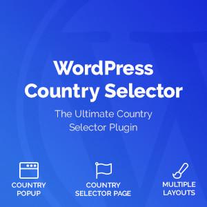 Pemilih Negara Wordpress
