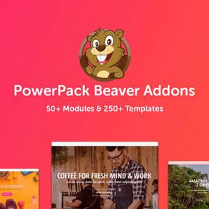 Addon Beaver Builder PowerPack.