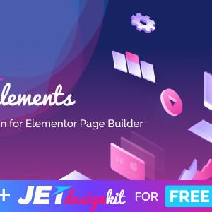 JetElements - Addon untuk Elementor Page Builder.