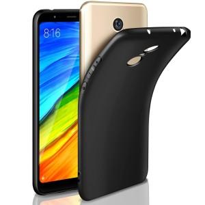 Jelly Case Matte Black Xiaomi Redmi 5 Plus