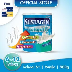 Sustagen School Susu Pertumbuhan Vanila 800g Free Lock&Lock