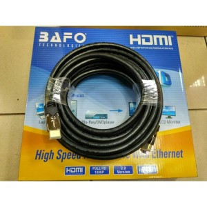 Kabel HDMI Bafo 20M / HDMI Bafo 20 Meter versi 2.0 v2.0 Full HD