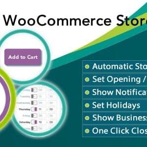 Penutupan Woocommerce Store