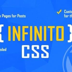 INFINITO - Custom CSS untuk Halaman dan Posting Terpilih