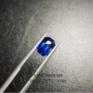 SG-097 RARE CUTTING VIVID BLUE SAPPHIRE FROM SRILANGKA PERFECT