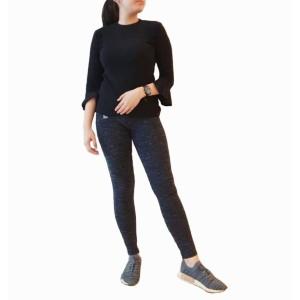 Loft Celana Panjang Leggings Navy Wanita Pakaian Branded Original Mura