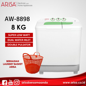 ARISA AW-8898 Mesin Cuci Green