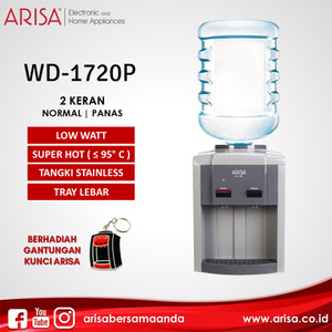 ARISA WD-1720P Dispenser Charcoal