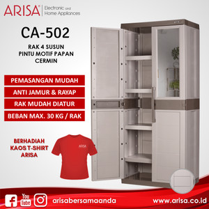 ARISA CA-502 Lemari Brown