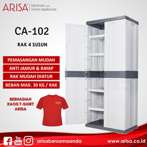 ARISA CA-402 Lemari Grey