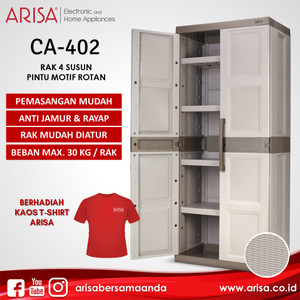 ARISA CA-402 Lemari Brown