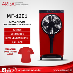 ARISA MF-1201 Mist Fan Red