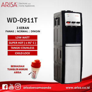 ARISA WD-0911T Dispenser Black