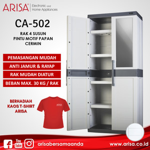 ARISA CA-502 Lemari Grey