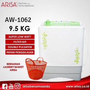 ARISA AW-1062 Mesin Cuci Green