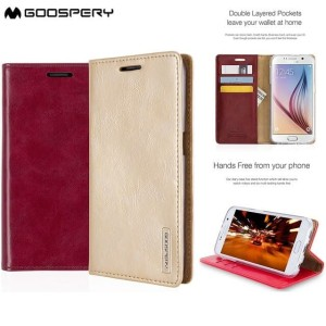 Flip Cover Blue Moon Goospery For Samsung S8 Plus