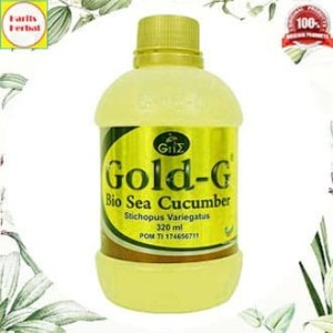 Jelly Gamat Gold G | Sea Cucumber Isi 320ml