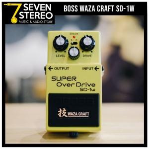 Boss SD-1W - SD1W Super Overdrive Waza Craft