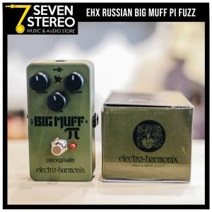 Electro Harmonix Big Muff Pi Classic Green Russian Fuzz