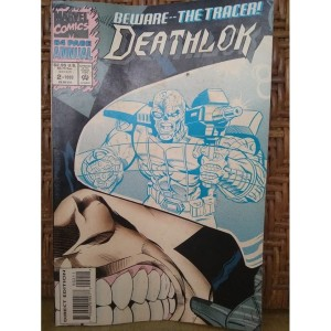 Buku Comic Marvel Beware -The Tracker Deathlock UK