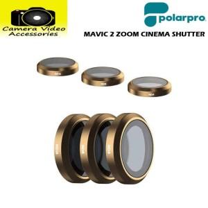 PolarPro DJI Mavic 2 Zoom Cinema Series Shutter Collection