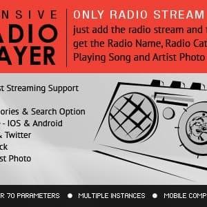 Radio Player Shoutcast & Icecast
