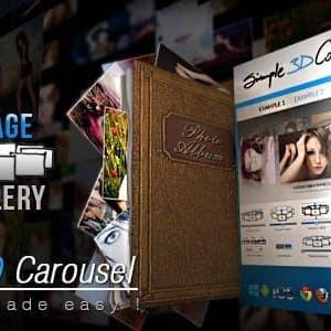 Simple 3D Carousel - Plugin Wordpress