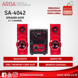 ARISA SA-4042 Speaker Aktif Red