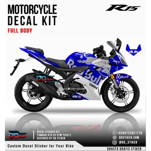 Decal Sticker R15 V2 KTM Tech3 V2 DG Stiker