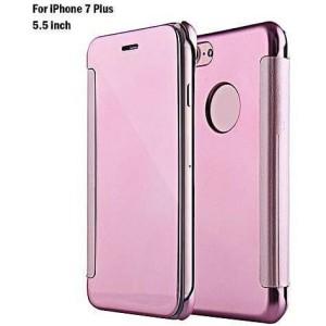 Flip Cover Case Mirror For Iphone 7 Plus