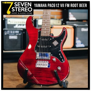 Yamaha Pacifica PAC612VIIFM PAC 612 Root Beer Electric Guitar