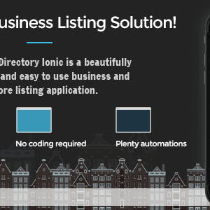 Business Directory Ionic - Aplikasi Lengkap dengan Firebase dan