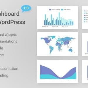 Widget Dashboard Grafis untuk WordPress