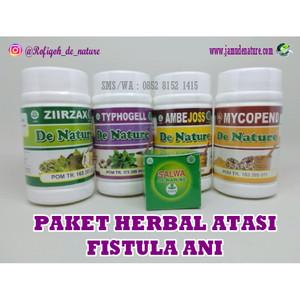 Obat Herbal Fistula Ani Paket Lengkap De Nature