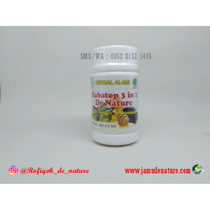 HABATOP 3 IN 1 Obat Herbal De Nature