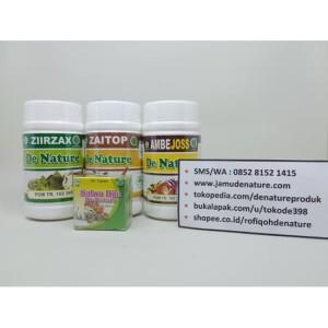Paket Obat Wasir/ Ambeien Herbal Alami De Nature