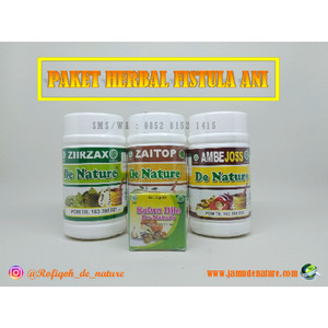 Obat Fistula Ani Herbal Alami De Nature