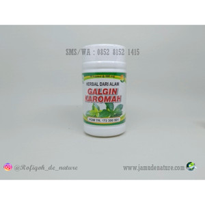 GALGIN KAROMAH Obat Herbal Atasi Batu Ginjal/Kencing Batu