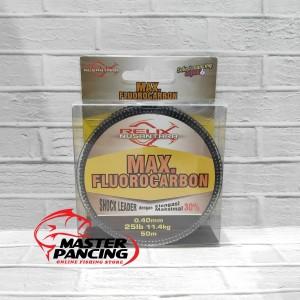 Senar Leader Relix Nusantara Max Fluorocarbon 25lb - 50m