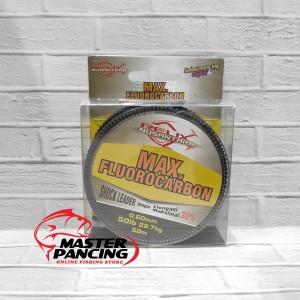 Senar Leader Relix Nusantara Max Fluorocarbon 50lb - 50m