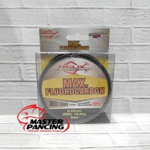 Senar Leader Relix Nusantara Max Fluorocarbon 40lb - 50m