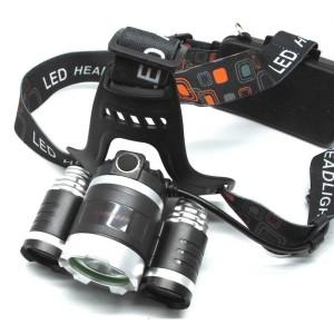 Murah! TaffLED Power Headlamp 3 LED 5000 Lumens Cree XM-L - T6 HD-LD