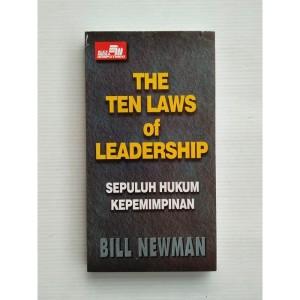 The Ten Laws of Leadership