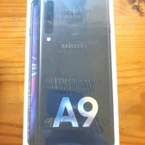 samsung A9 new black ori 6G,/128G