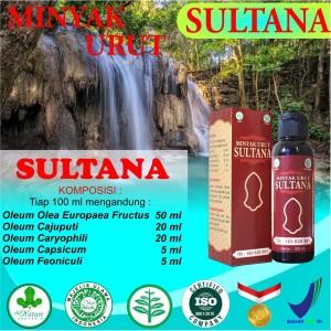 SULTANA Minyak Urut/Pijat/Gosok Tradisional De Nature