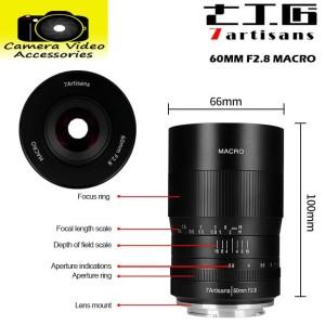 7Artisans 60mm Macro F2.8 for Fuji X