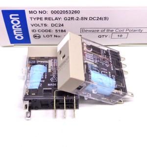G2R-2-SND Omron relay G2R-2-SND S S 24VDC G2R2SNDS new free ship