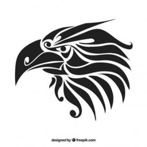 Gambar Logo Kepala Elang Hitam Putih Jual Sticker Cutting Elang Keren 10 Kota Yogyakarta Proskin Tokopedia