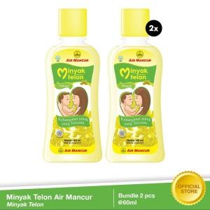 Minyak Telon Air Mancur 60 ml (Bundle 2 pcs) [FLASH SALE]