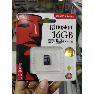Micro SD Kingston 16 GB microSDHC 16 GB micro Secure Digital Card